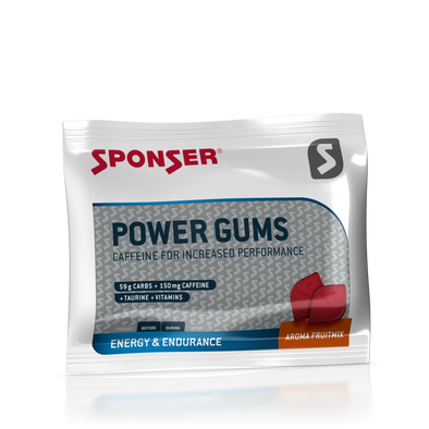 Power Gums 59g Carbs + 150mg Caffeine