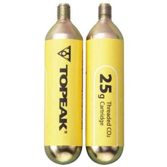 Cartucho CO2 TOPEAK 25G x 2 unid