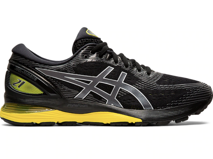 GEL - NIMBUS® 21 MEN (BLACK/LEMON SPARK) - Asics