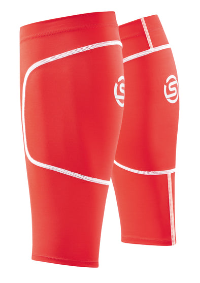 Skins Gemeleras Essentials Sport Calftights Coral Red