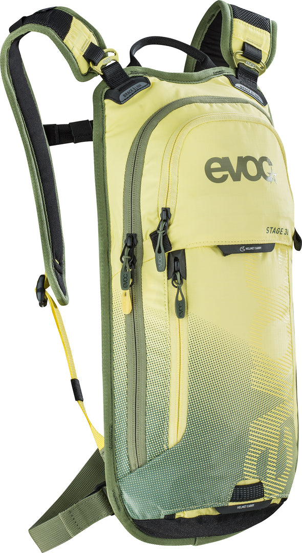 Mochila EVOC Stage 3I Yellow-light olive
