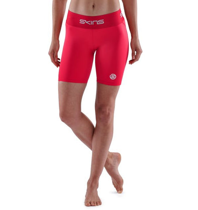 Skins Series-1 Calza Women's Half Tights Red
