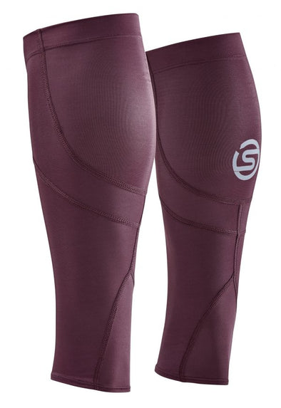 Skins Series-3 Gemeleras Unisex Mx Calf Sleeves Burgundy