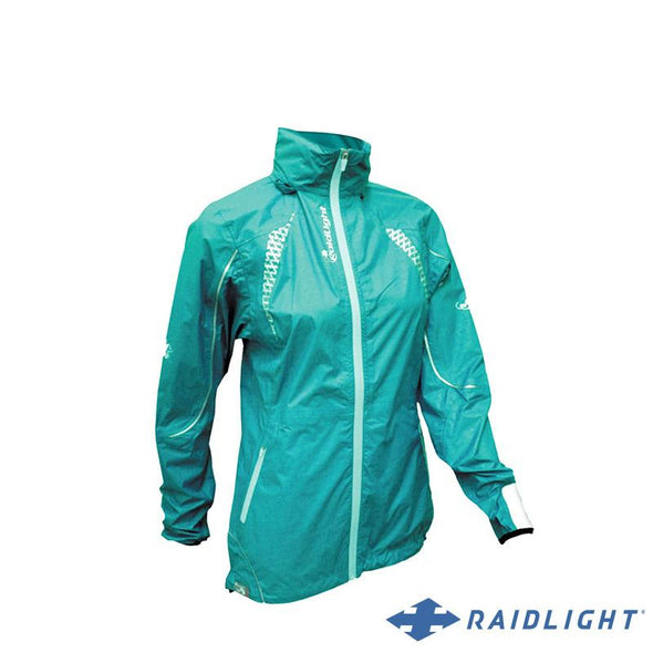 Chaqueta Impermeable Top Extreme MP+ Mujer Petrol Blue/Turquoise - RAIDLIGHT