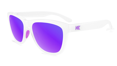 KNOCKAROUND - PREMIUMS SPORT Clear Jelly / Purple - POLARIZADO
