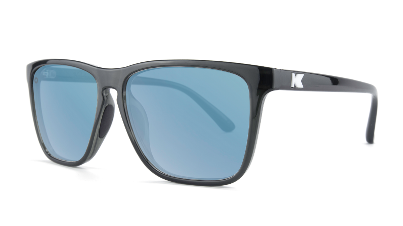 KNOCKAROUND - FAST LANES SPORT Jelly Black / Sky Blue - POLARIZADO