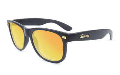 KNOCKAROUND - FORT KNOCKS Matte Black / Sunset POLARIZADO