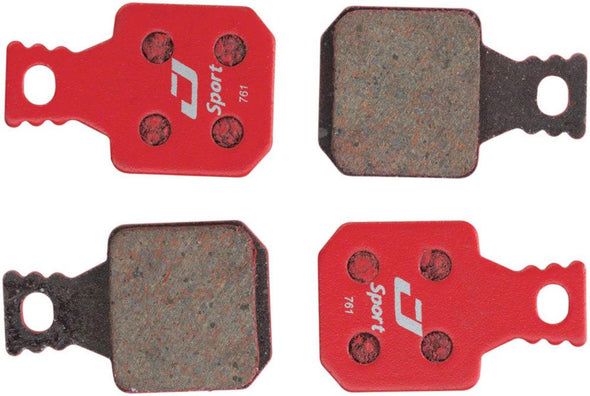 Jagwire Brake Pads Magura® MT7, MT5, MT Trail Front | Red | Sport Semi-Metallic