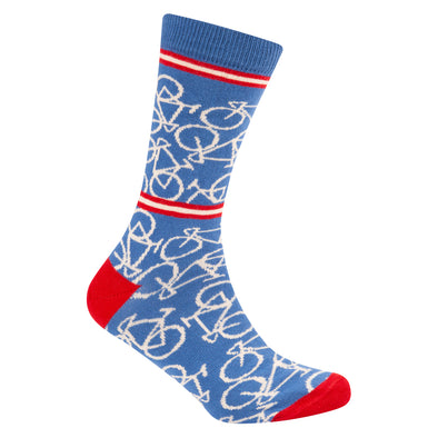 Bicycle Socks Riviera Blue