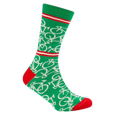 Bicycle Socks Italian Green