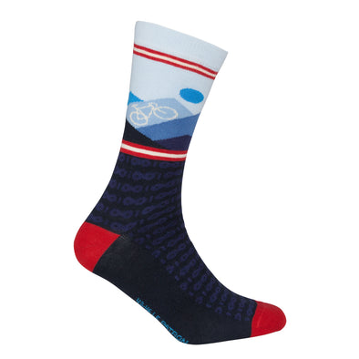 Mountain Socks Dark Blue