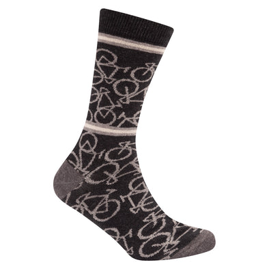 Bicycle Socks Dark Grey