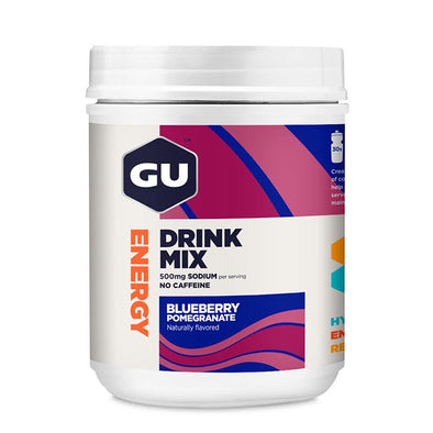 GU Energy Drink Mix | 30srv Canister, Blueberry Pomegranate