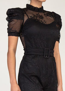 The Lace Romper