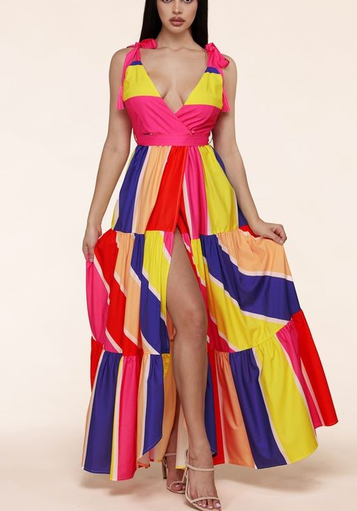 The Color Burst Maxi