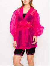 Load image into Gallery viewer, Organza Summer Trench
