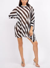 Load image into Gallery viewer, Sheer Stripe Tunic