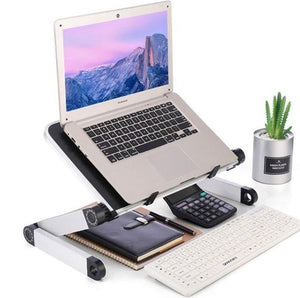 🔥🔥🔥Mother's Day Last OFF Adjustable Ergonomic Portable Aluminum Laptop Desk Stand