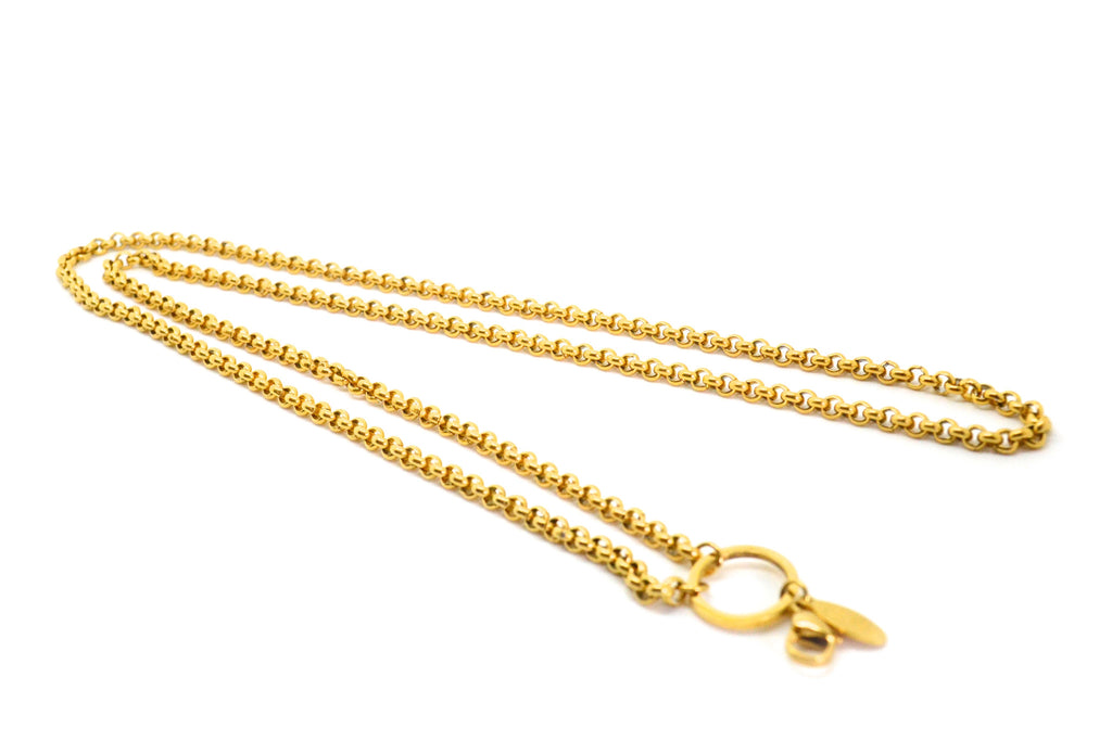 "30"" Gold Rolo Chain"
