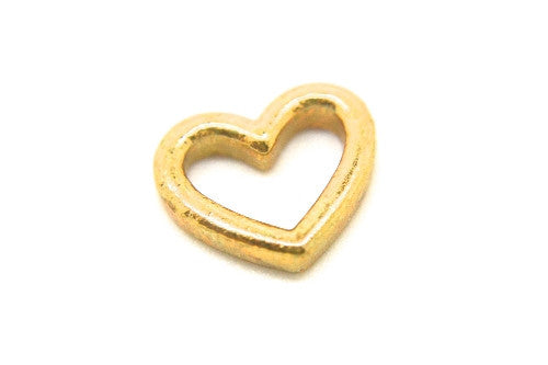 Large Gold Open Heart