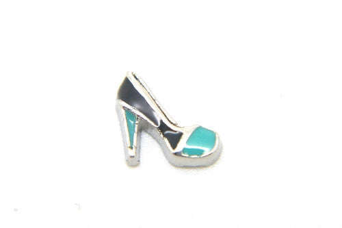 Silver & Blue Stiletto