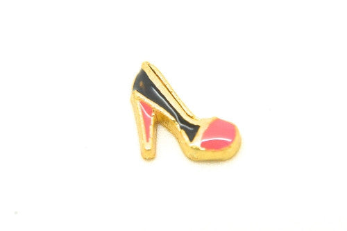 Gold & Pink Stiletto