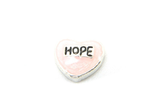Pink Hope Heart