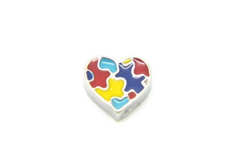 Autism Awareness Heart - LOVE K LONDON