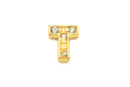 Crystal Gold T Initial