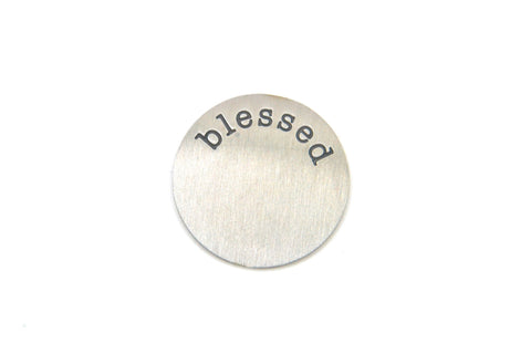 Silver Blessed Plate - LOVE K LONDON