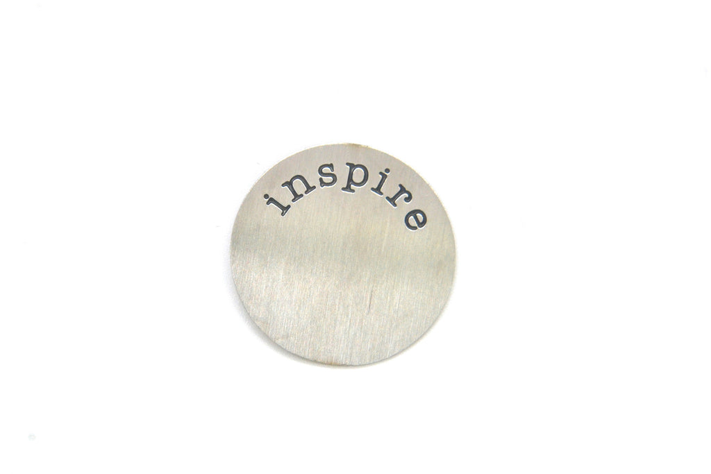 Silver Inspire Plate