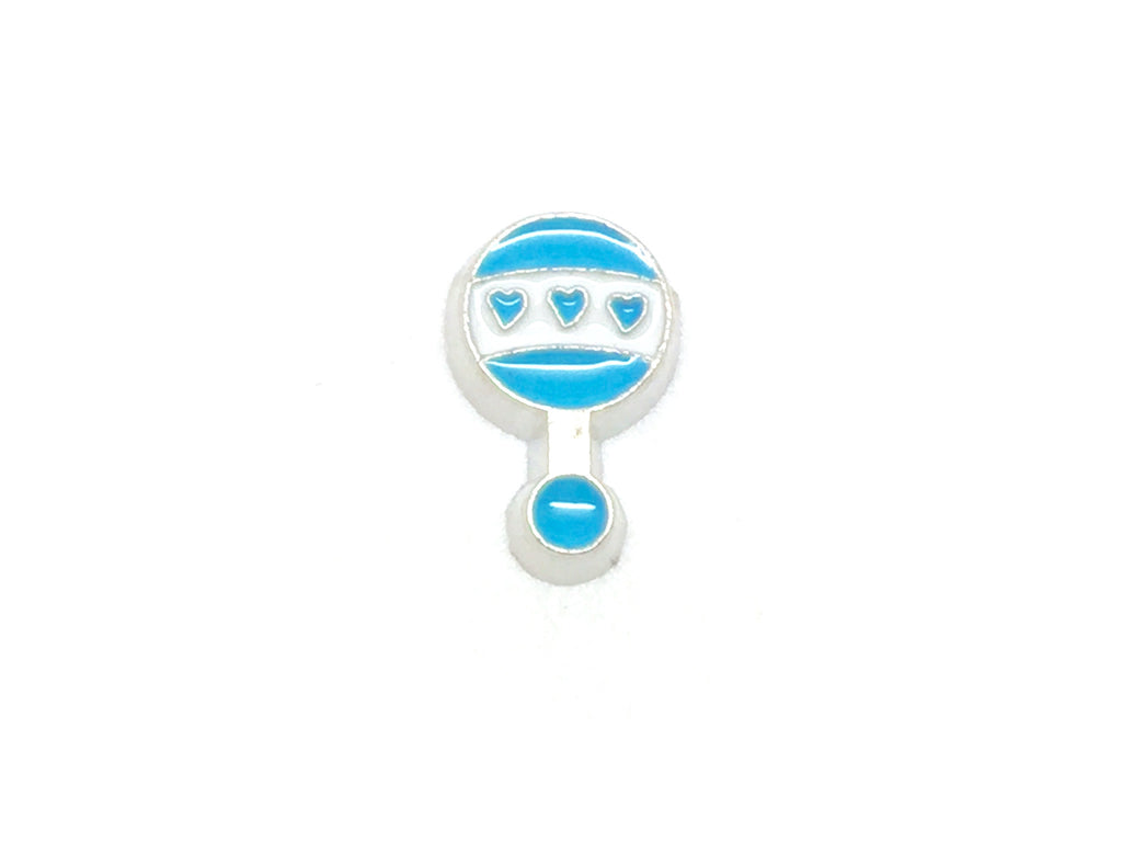 Blue Baby Rattle