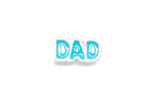 blue dad charm - love k london