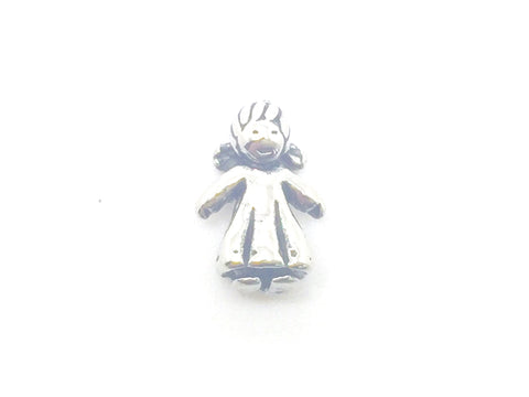 3D Silver Girl - LOVE K LONDON   - 1