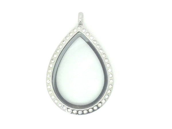 Teardrop Crystal Locket