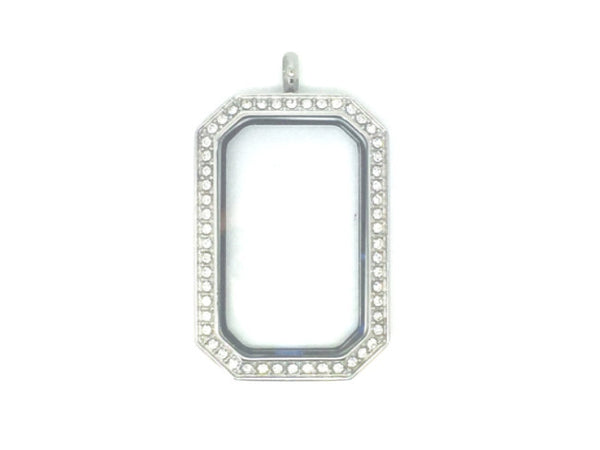Frame Crystal Locket