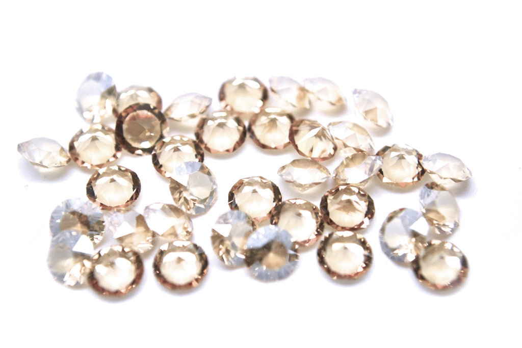 Golden SWAROVSKI® Accent Crystal