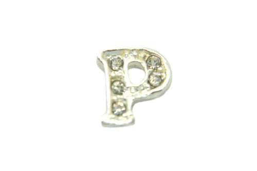 Crystal Silver P Initial