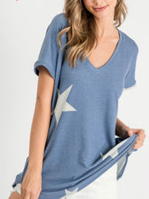 Load image into Gallery viewer, V-Neck Star Print Top