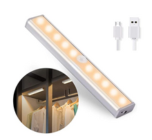 Load image into Gallery viewer, Motion Sensor LED Light USB Rechargeable