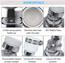 Load image into Gallery viewer, 360 Degree Swivel Faucet Water Saving Faucet