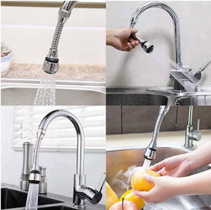 2PCS 360 Degree Swivel Faucet Water Saving