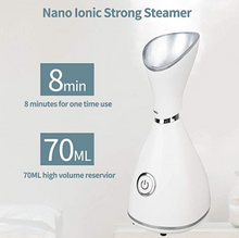 Load image into Gallery viewer, Facial Steamer, Humidifier, 2 In 1 Nano Ionic Facial Steamer