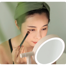 Load image into Gallery viewer, Triple Magnification Cosmetic Makeup Mirror LED Light
