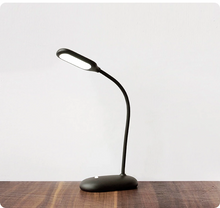 Load image into Gallery viewer, LED Flexible Hose Black Cordless Touch Table Lamps
