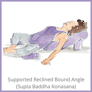 Pose Spotlight: Supported Reclined Bound Angle