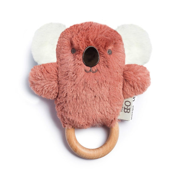 OB Designs Wooden Teether - Kate Koala