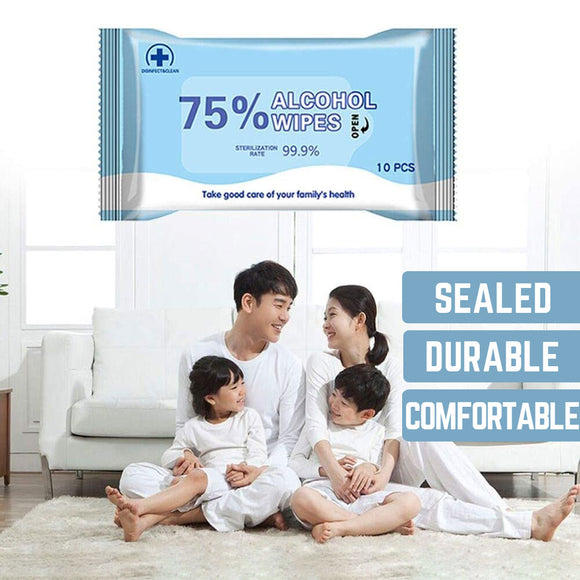 (In Stock Now!) Disinfection 75% Alcohol Wipes
