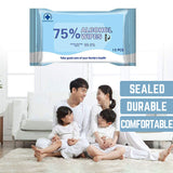 100 Pouches of Disinfection 75% Alcohol Wipes - $1.8/pouch