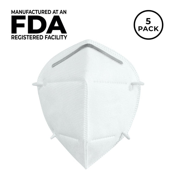 (In-Stock Now!) YiFan FDA Listed 4-Layer KN95 Face Mask 5 Pack - $3.25/piece